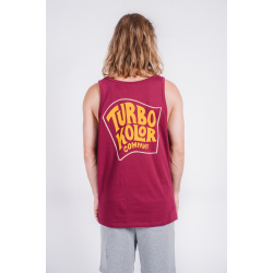 Beach Pack Tanktop Ticket – Burgundy SS18