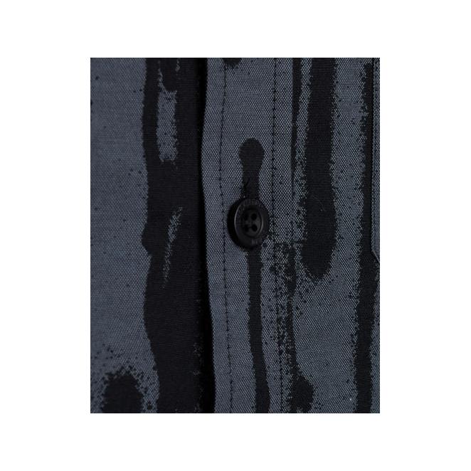 Nawer x TK 308 Shirt – Anthracite/Black